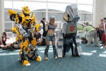 Bumblebee and Grimlock