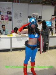 Captain America Chick