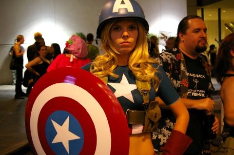 Captain America Woman
