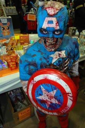 Colonel America Marvel Zombie