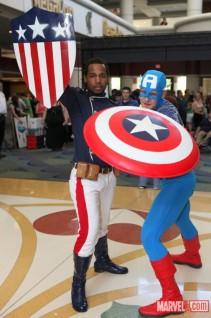 Patriot and Cap