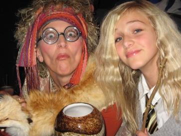 Prof Trelawney and Luna