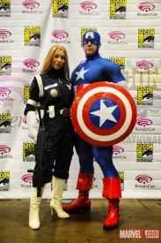 Sharon Carter and Cap