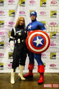 Sharon Carter and Cap
