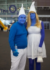 Smurf couple