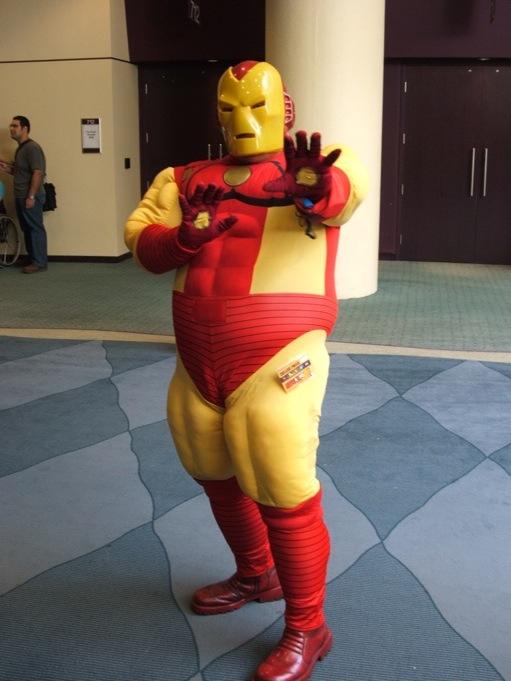 cosplay Fat man