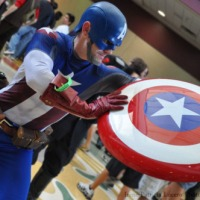 THE AVENGERS Cosplay Day 4 - Captain America
