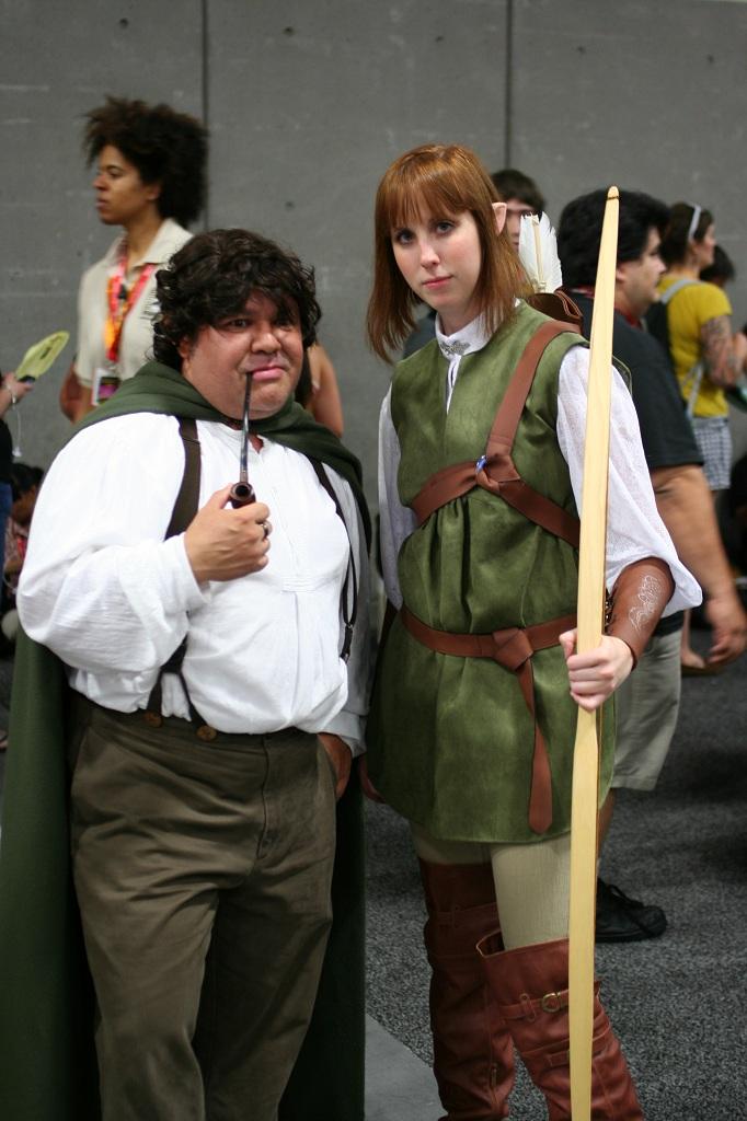 hobbit and elf