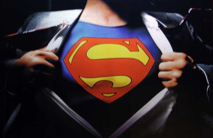 superman chest