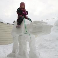 14 More Great Geeky Snow Sculptures