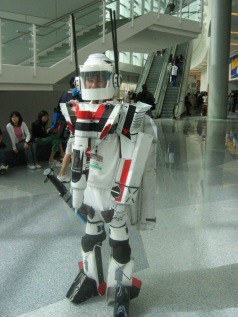 Giant Robot Cosplay He Geek She Geek