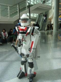 Giant Robot Cosplay He Geek She Geek