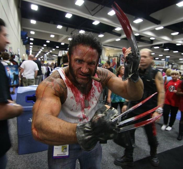Wolverine bloody