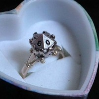 Nerdy Rings to Show Your Geek How Much You Love Them