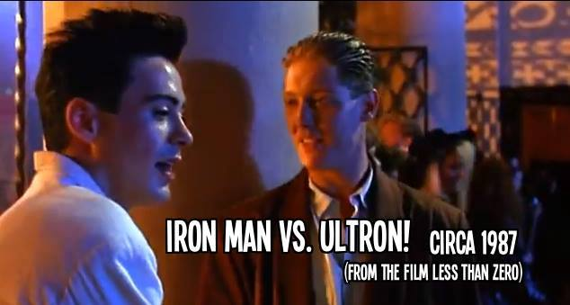 iron man v ultron