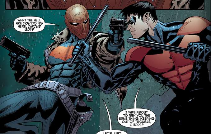 batman vs red hood - photo #24