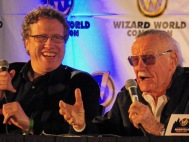 Danny Fingeroth and Stan Lee