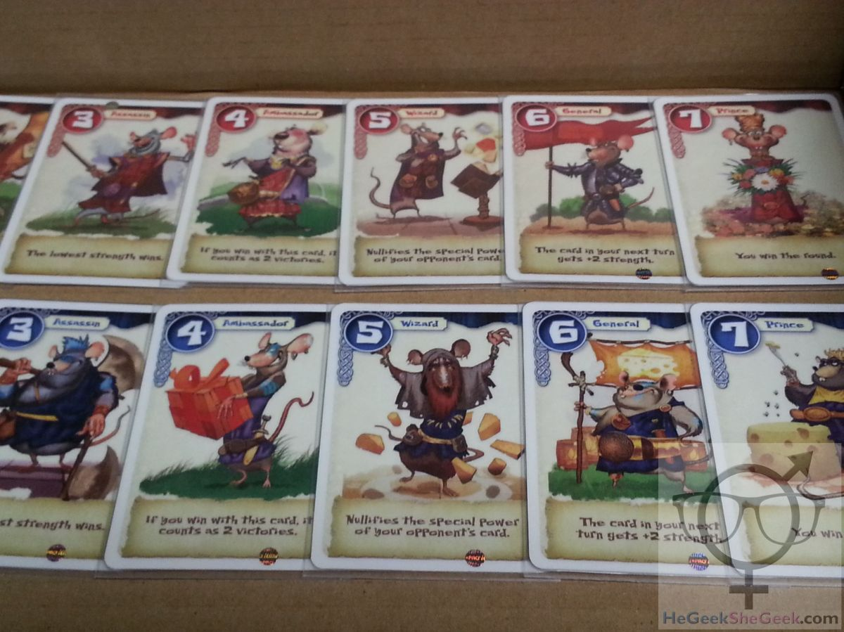 BRAVERATS Card Game Review by He Geek and She Geek