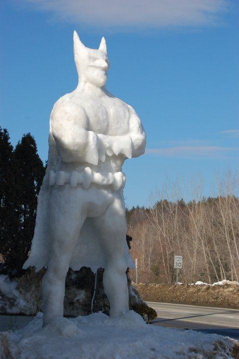snow-batman