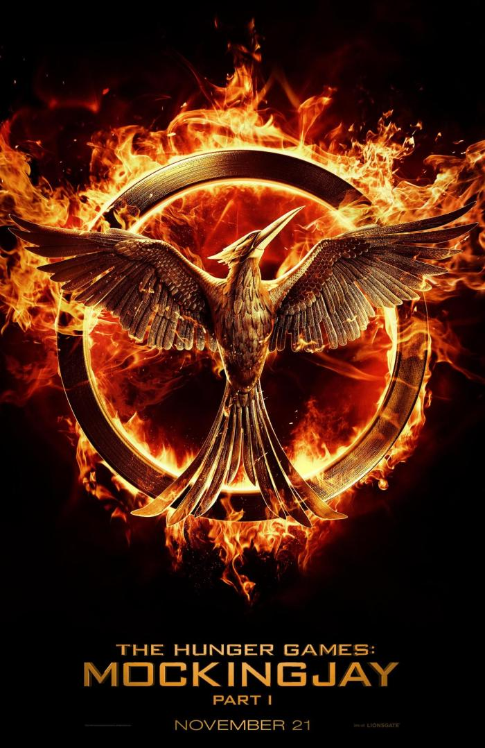 mockingjay part 1 poster