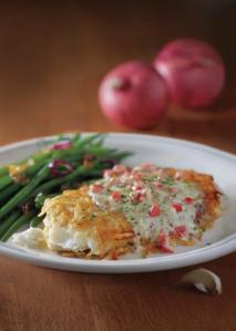 Potato-Crusted Haddock