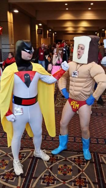 Space Ghost v Powdered Toast Man