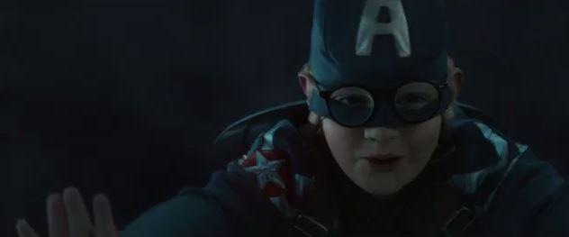 captain america kid