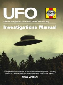 UFO Investigations Manual cover