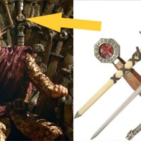 GAME OF THRONES' Iron Throne Contains Some Familiar Swords