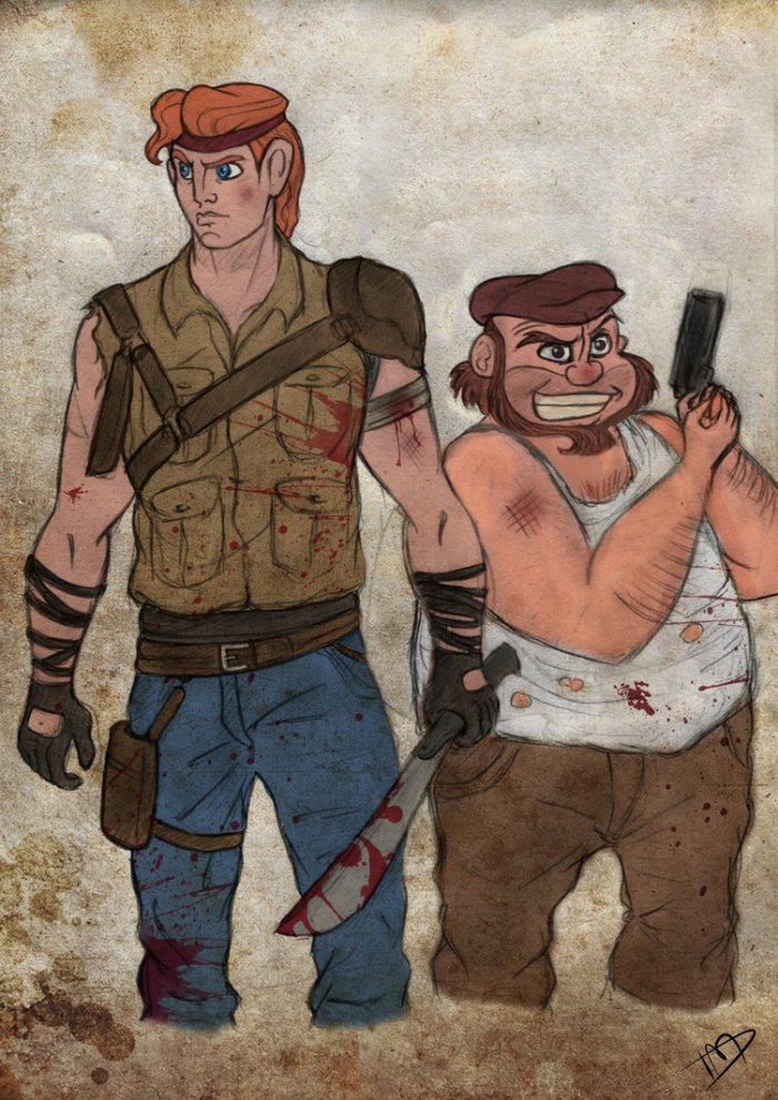 the_walking_disney___herc_and_phil_by_kasami_sensei-d79wpm2