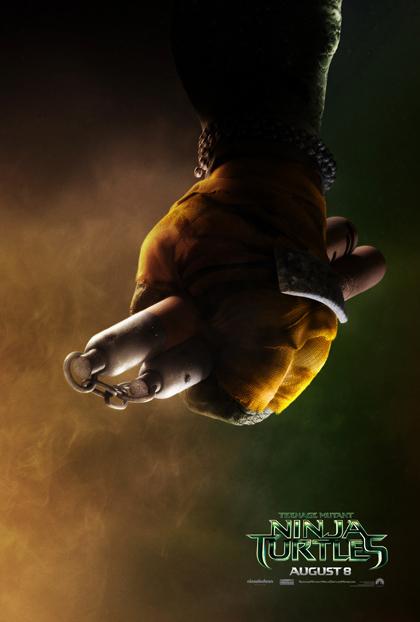 michelangelo-TMNT-Poster