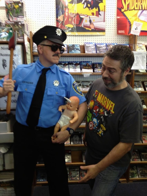 Axe Cop dispenses justice