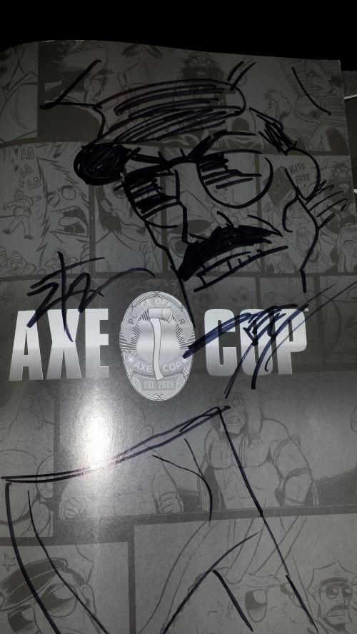 Axe Cop Sketch