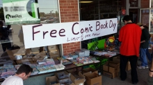 fcbd at Ricks Comic City
