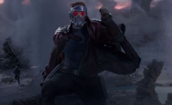 gotg peter quill starlord