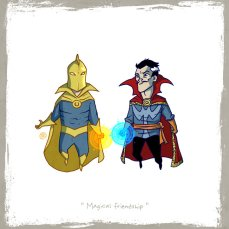 little_friends___dr_fate_and_dr_strange_by_rawlsy-d60w6x3