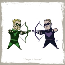 little_friends___green_arrow_and_hawkeye_by_rawlsy-d62qceu