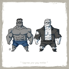 little_friends___hulk_and_grundy_by_rawlsy-d62qbyd