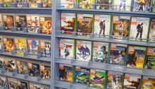 video game shelves