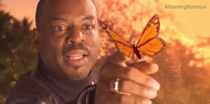 reading rainbow butterfly