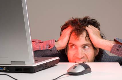 stressed geek