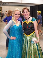 Frozen's Elsa and Anna