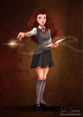 Belle as Hermione Granger
