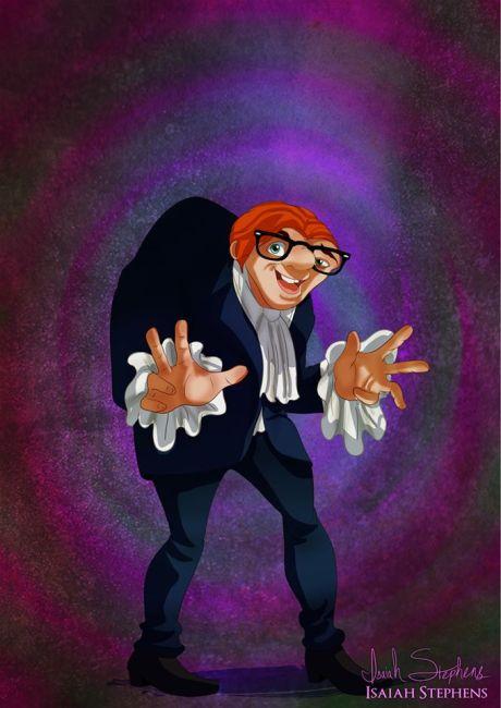 Quasimodo as Austin Powers