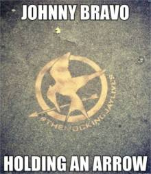 mockingjay johnny bravo