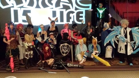 Cosplay contest winners
