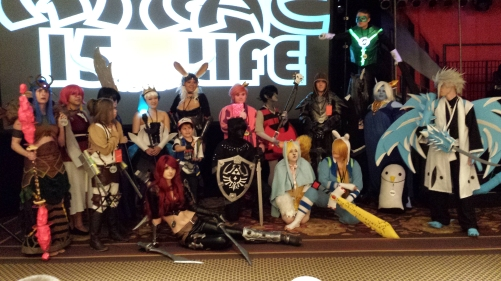 Cosplay contest winners